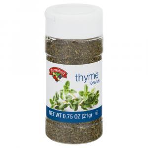 Hannaford Thyme Leaves