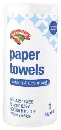 Hannaford White Mega Roll Paper Towels