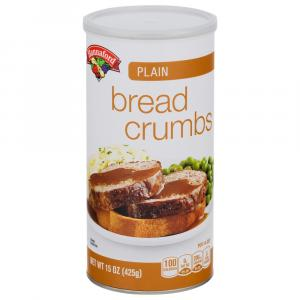 Hannaford Plain Bread Crumbs