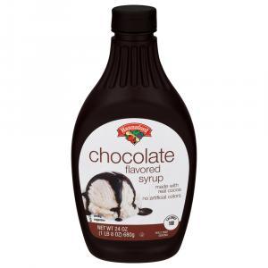 Hannaford Chocolate Syrup