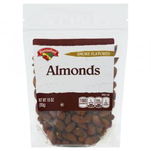 Hannaford Smoked Almonds