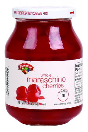 Hannaford Whole Maraschino Cherries