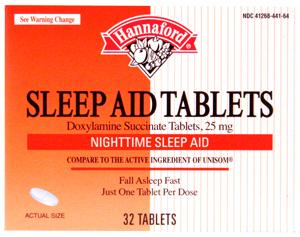Hannaford Sleep Aid Tablets