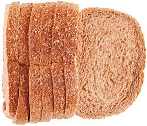 All Natural Stone Ground Whole Wheat 1/2 Loaf