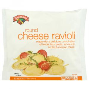 Hannaford Round Cheese Ravioli
