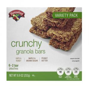 Hannaford Variety Pack Crunchy Granola Bars