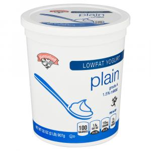Hannaford Low Fat Plain Yogurt