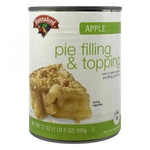 Hannaford Apple Pie Filling