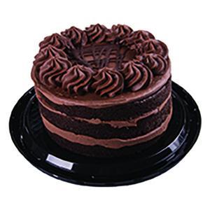 "Hannaford 6.5"" Triple Layer Chocolate Cake"