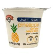 Hannaford Lowfat Pineapple Yogurt