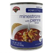 Hannaford Homestyle Minestrone w/Penne Soup