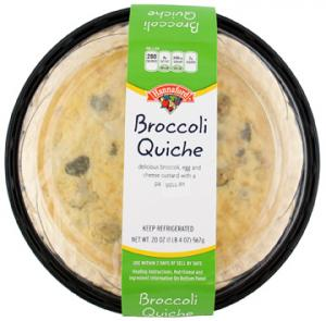 Hannaford Broccoli Quiche