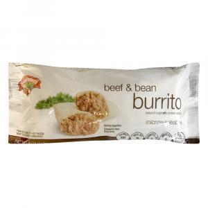 Hannaford Beef & Bean Burrito