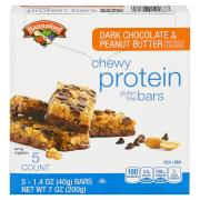Hannaford Dark Chocolate & Peanut Butter Protein Bars