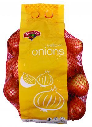 Hannaford Yellow Onions