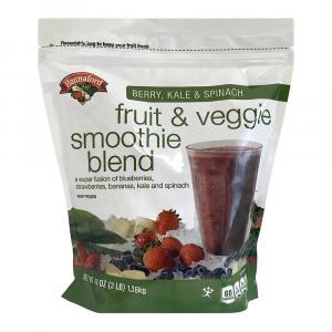 Hannaford Kale Spinach Berry Fruit Veggie Smoothie Blend
