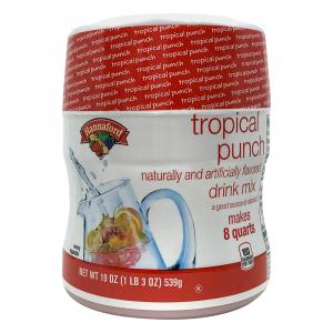 Hannaford Tropical Punch Artificially Flavored Drink Mix