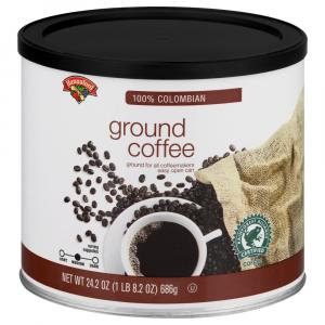 Hannaford Ground Coffee Colombian Blend