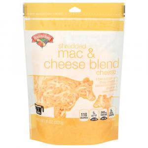Hannaford Natural Mac & Cheese Blend Shredded Cheese