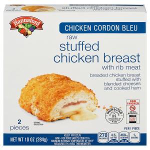 Hannaford Chicken Cordon Bleu Stuffed Chicken Breast