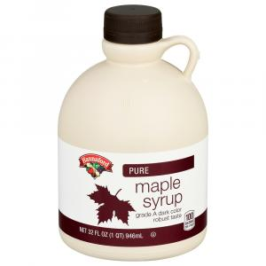 Hannaford 100% Pure Grade A Dark Amber Maple Syrup
