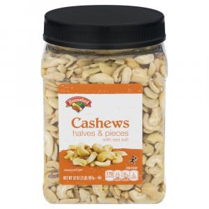 Hannaford Cashew Halves with Pieces