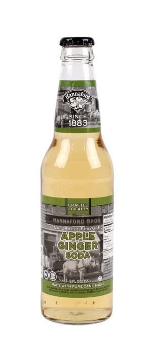 Hannaford Apple Ginger Soda Single