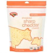 Hannaford Sharp Cheddar Shredded Cheese