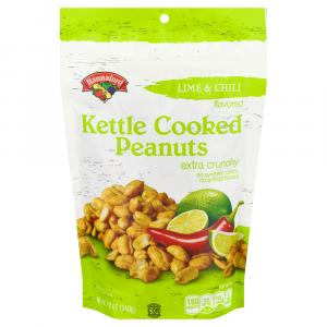Hannaford Lime & Chili Kettle Cooked Peanuts