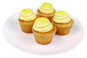 Mini Luscious Lemon Cupcakes