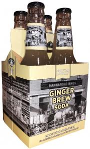 Hannaford Ginger Brew Soda