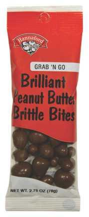 Hannaford Grab 'n Go Chocolate Peanut Brittle Bites