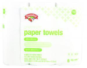 Hannaford Premium Paper Towels Choose A Size Big Roll