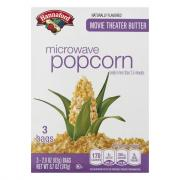 Hannaford Movie Theater Butter Microwave Popcorn