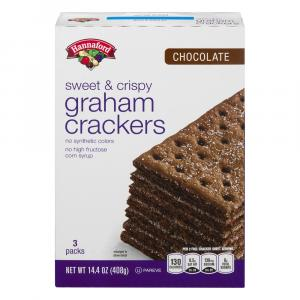 Hannaford Chocolate Graham Crackers