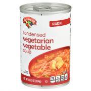 Hannaford Classic Condensed Vegetarian Vegetable Soup