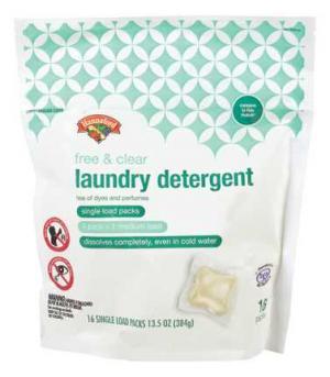 Hannaford Single Dose Laundry Detergent Free