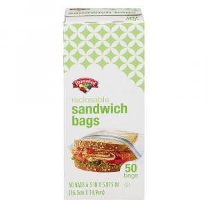 Hannaford Reclosable Sandwich Bags