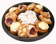 Cinnamon Roll & Danish Platter