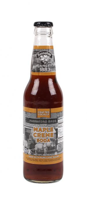 Hannaford Maple Creme Soda Single