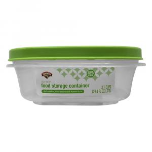 Hannaford 3.1-Cup Food Storage Square Container