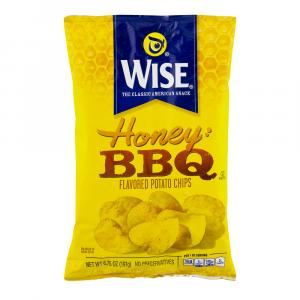 Wise Honey Barbecue Potato Chips