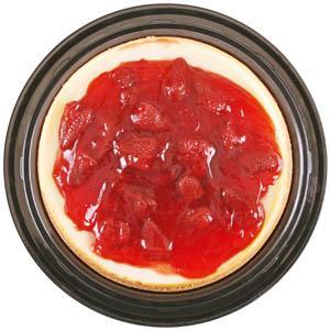 "7"" Fresh Strawberry Topped Cheesecake"