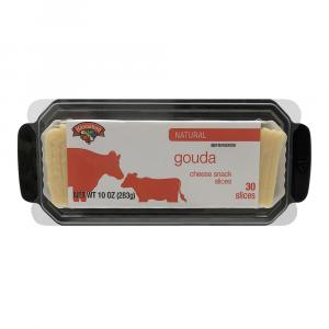 Hannaford Gouda Snack Slices