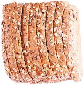 Hannaford 1/2 Multigrain Panini Loaf