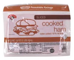 Hannaford Sliced Cooked Ham