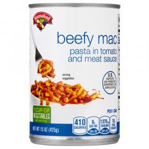 Hannaford Beefy Mac