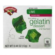 Hannaford Sugar Free Lime Gelatin