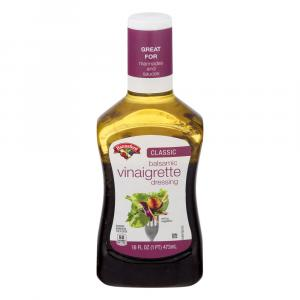 Hannaford Balsamic Vinaigrette Salad Dressing