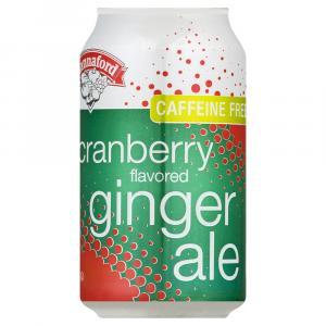 Hannaford Cranberry Ginger Ale